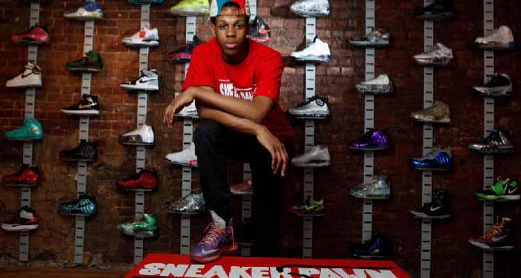 波鞋當舖美國16歲少年開設波鞋當舖