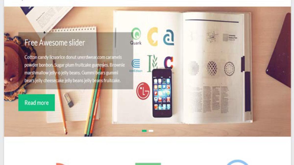spacious-自適應網頁設計