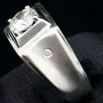 鑽石男戒指
