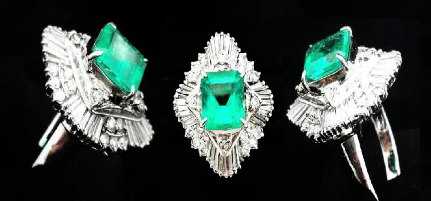 高雄流當品-天然寶石-祖母綠寶石