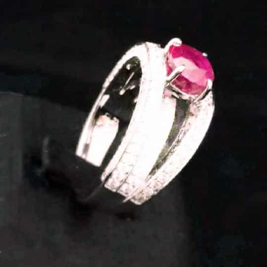流當品 紅寶石戒指