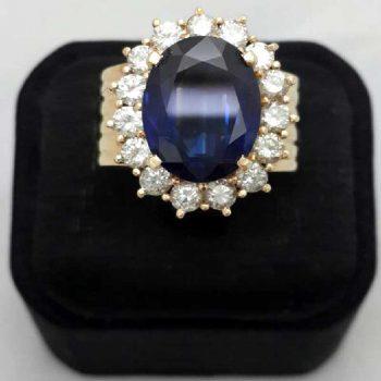 天然藍寶石-流當品拍賣也難得一見。正面圖,詳請見網內詳說12