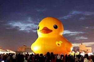 躍上國際的高雄 CNN 愛高雄理由 2 僅存的黃色小鴨