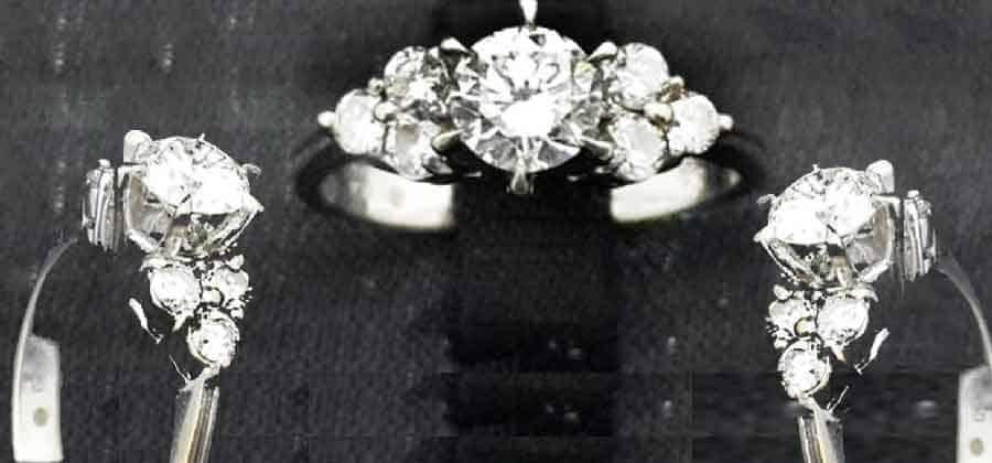 鑽石女戒指 0.59克拉 母親節禮物