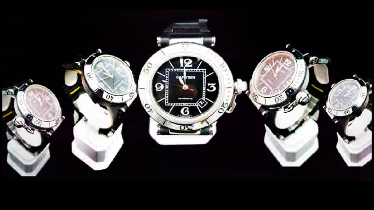 Cartier-pasha 係列