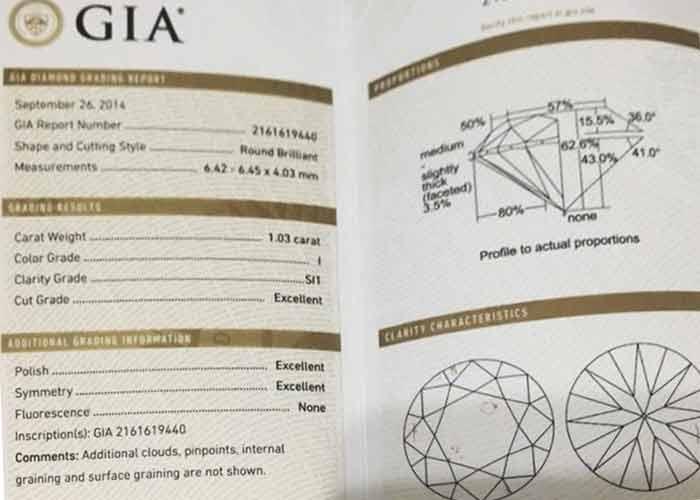 GIA證書-3ex鑽石女項鍊