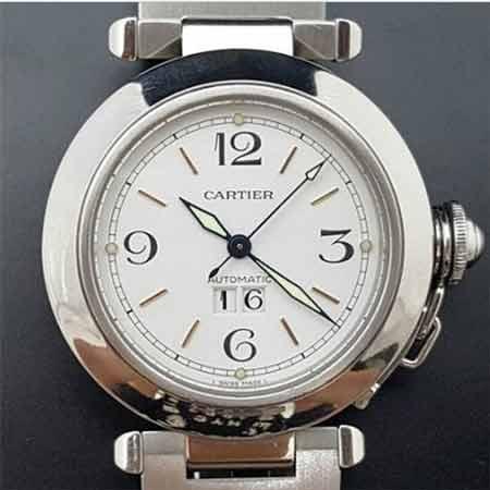 卡地亞女錶 pasha 大視窗機械錶