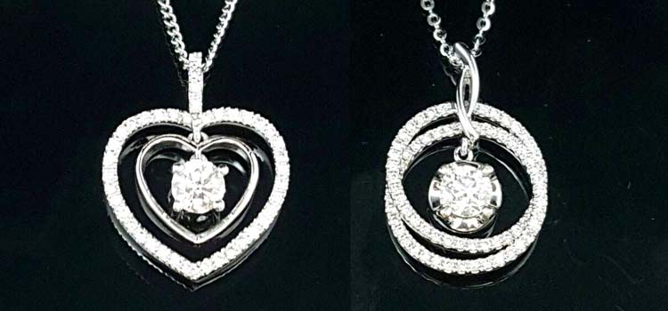 當舖流當商品 鑽石項鍊 項鍊設計款式 高雄流當 特賣