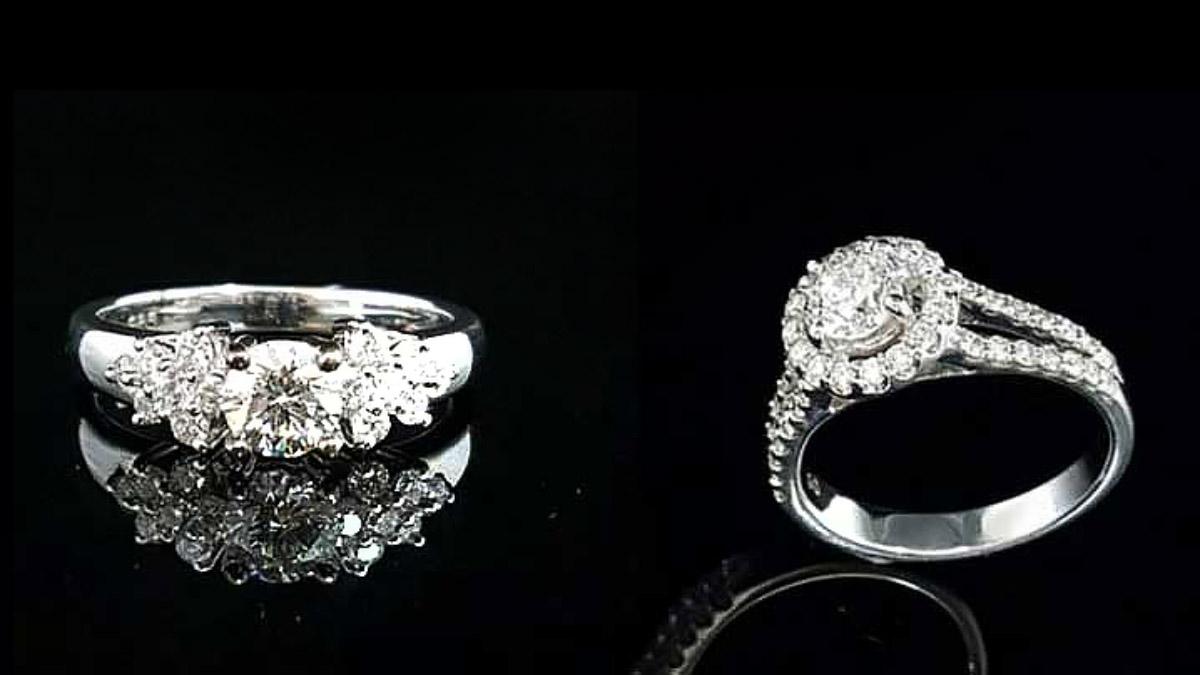 gia 鑽石女戒指