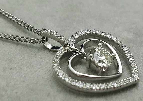 高雄流當鑽石女項鍊