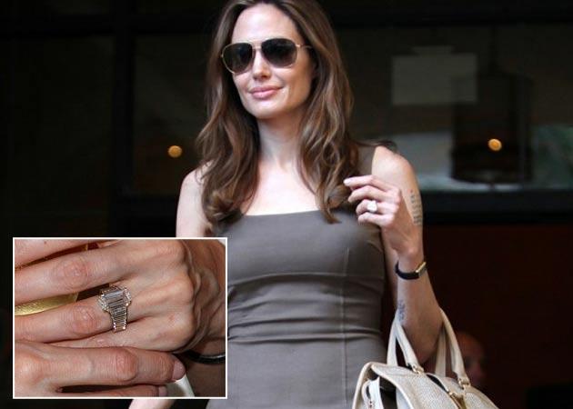 訂婚戒指 Angelina Jolie