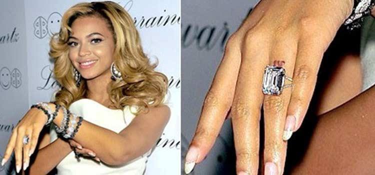 Beyonce 訂婚戒指