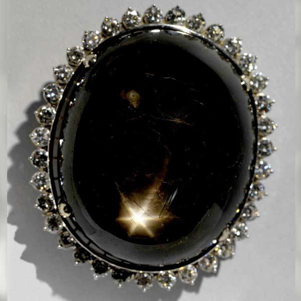 昆士蘭黑星藍寶石