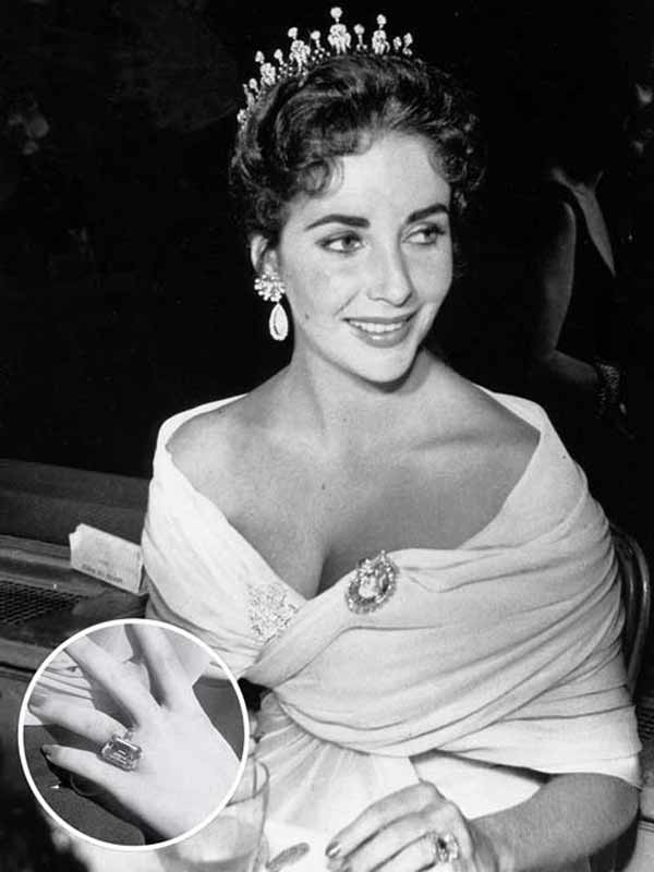 Elizabeth Taylor 訂婚戒指