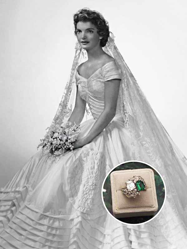 訂婚戒指 by Jacqueline Kennedy