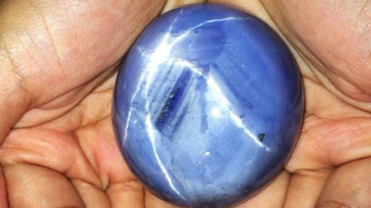 最大的 藍寶石 亞當之星