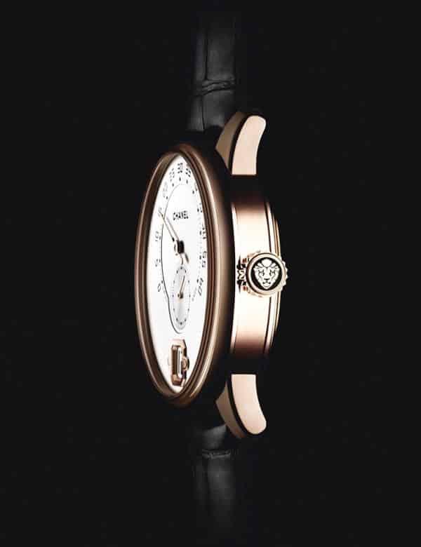 Chanel 首款自製男士腕錶