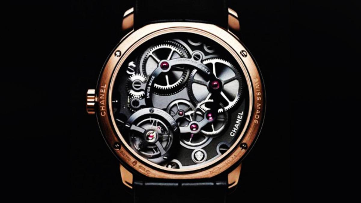 香奈兒男錶 5年首款自製男士腕錶 Calibre 1 機芯