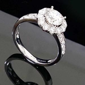 gia鑽石女鑽指