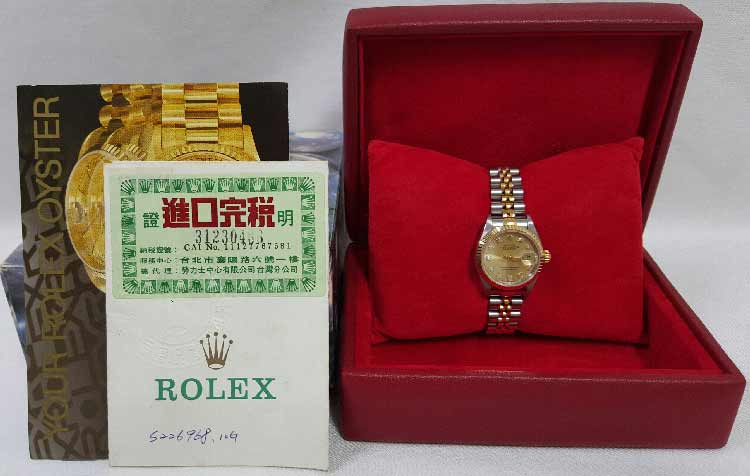 Rolex Datejust 69173 9成新