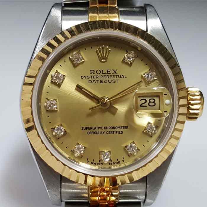 買二手勞力士手錶 Datejust 69173