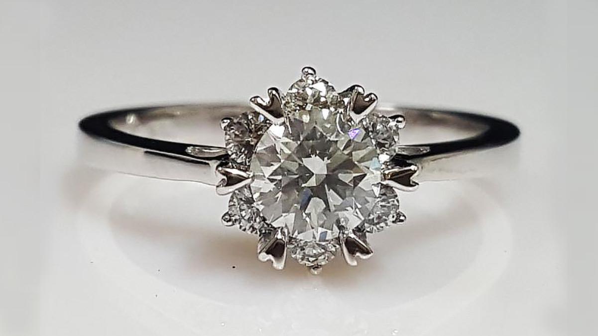 Gia6爪結婚鑽戒
