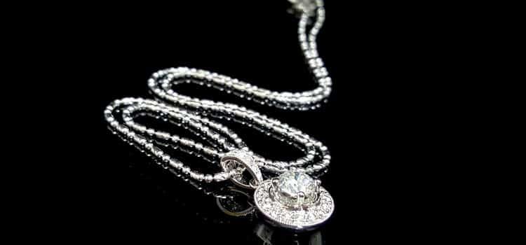 gia 鑽石項鍊