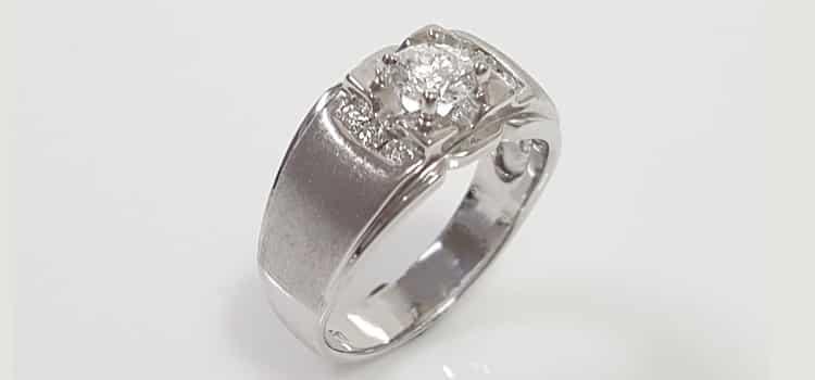 八心八箭鑽石戒指 ›結婚 送禮 犒賞自己好選擇› 50分H&A男鑽戒
