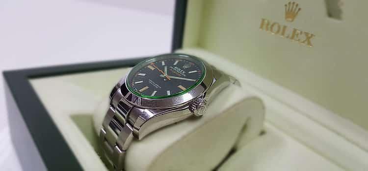 勞力士 Milgauss 腕錶 904L不銹鋼綠玻璃高防磁#116400GV|Rolex