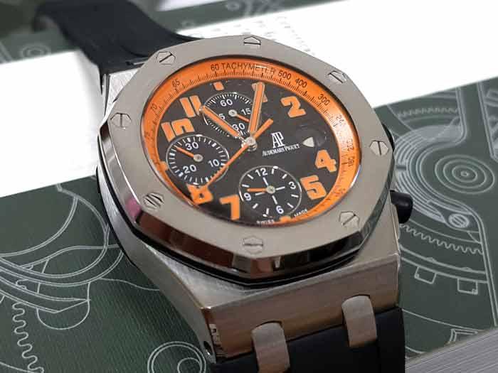 ap 錶 皇家橡樹離岸型火山款計時碼