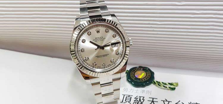 勞力士 Datejust Ref. 116334 41mm Rolex 原十鑽面盤 亂碼字頭