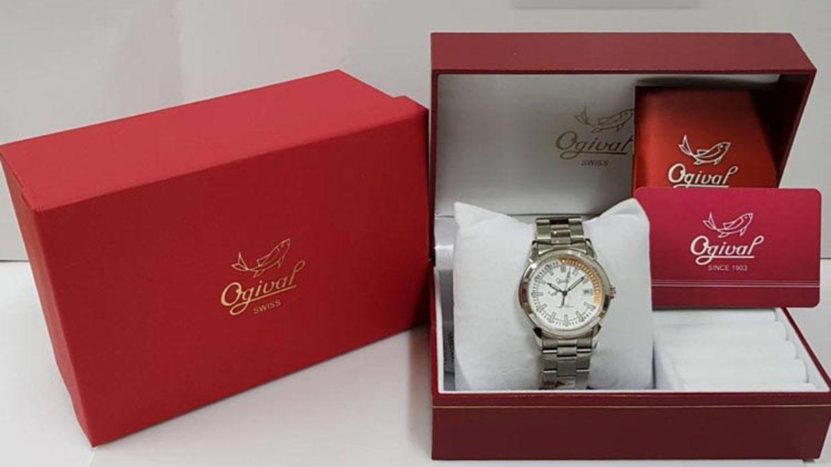 愛其華手錶 3696ms 白