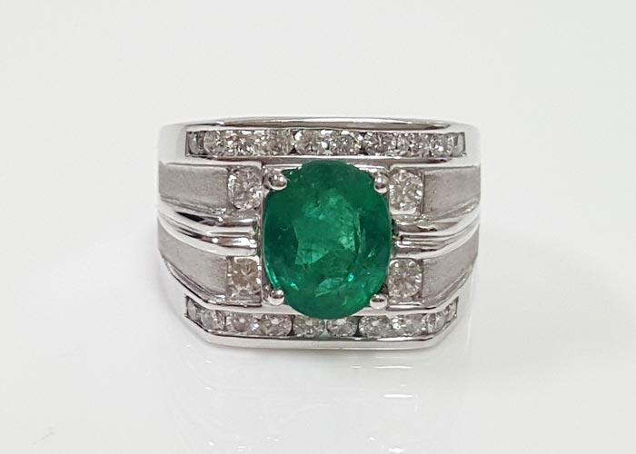 祖母綠戒指