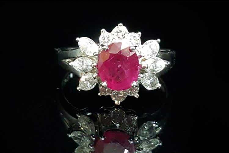 紅寶石戒指-女