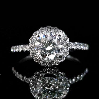 鑽石女戒指